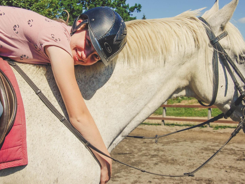 Haulmé by horse